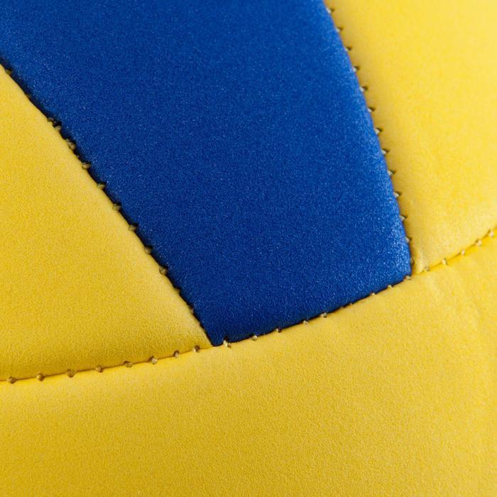 Ballon de volley-ball Wizzy 260-280g blanc et bleu à partir de 15 ans - 845992