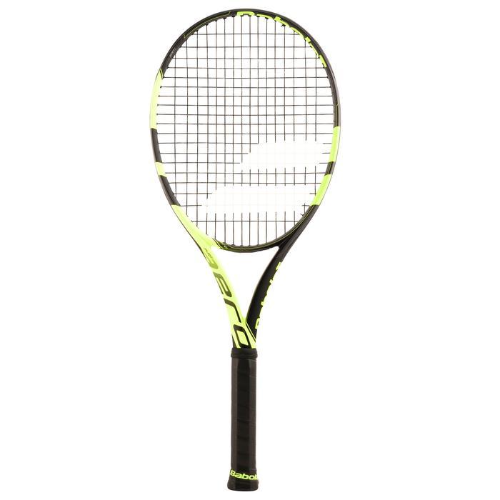 Tennisracket voor volwassenen Pure Aero zwart/geel - 846113