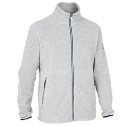 Fleece for regattas Race men's heather grey