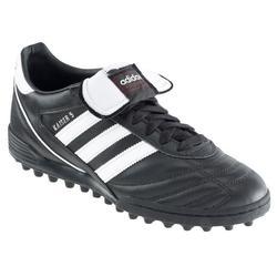 Botas de Fútbol adulto Adidas Kaiser 5 Team HG turf negro y blanco