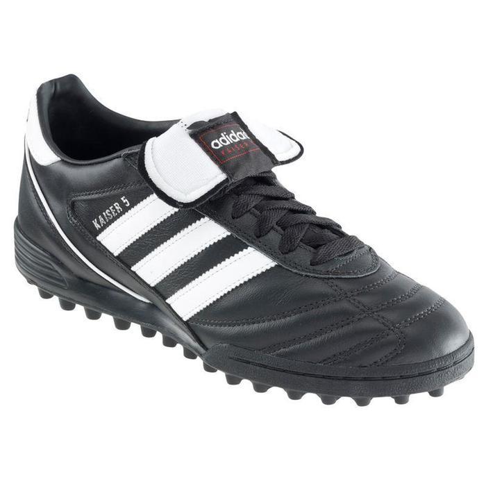 Chaussure football adulte Kaiser 5 Team HG noir - 846691