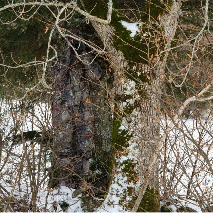Waterdichte jagersbroek Posikam 300 bruine camouflage