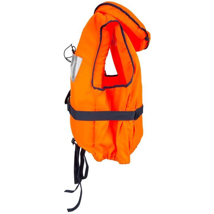 Gilet de sauvetage mousse adulte TYPHON 150N orange - 847216