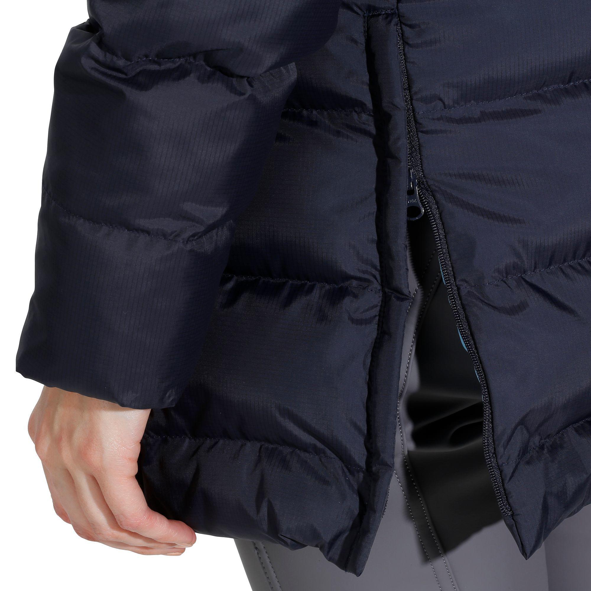 Veste chaude doudoune équitation femme PADDOCK marine