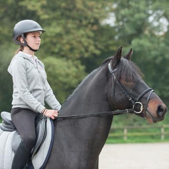 Sweat equitation enfant HORSE chiné - 847401