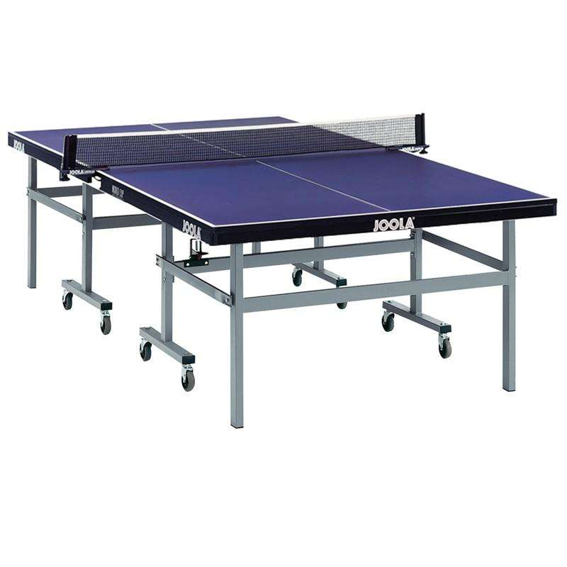 ACADEMIC TABLES Table Tennis - World Cup Comp Indoor Table Tennis Table - Blue JOOLA - Table Tennis Tables