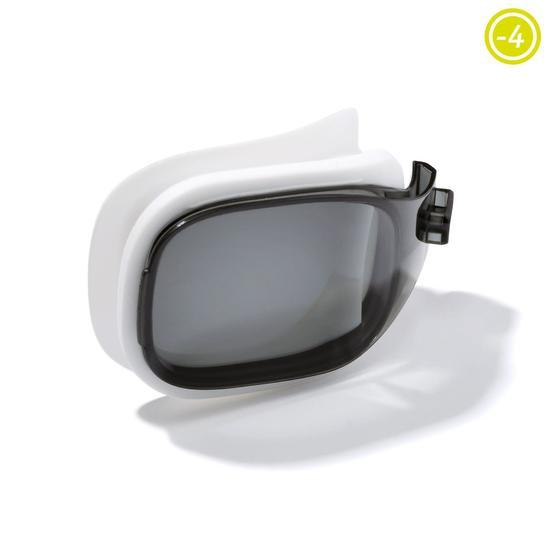 Corrigerende zwembril Selfit corr. -2 maat L rookglas Nabaji - 847797