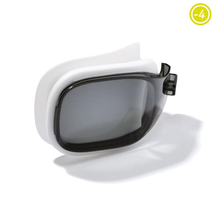 Four smoked lenses for SELFIT 500 swimming goggles - Size S
