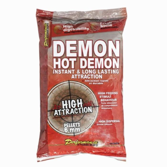 TABLETAS pesca de la carpa HOT DEMON 6 mm 700 g