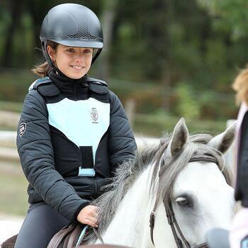 Veste équitation enfant SAFY noir - 848192