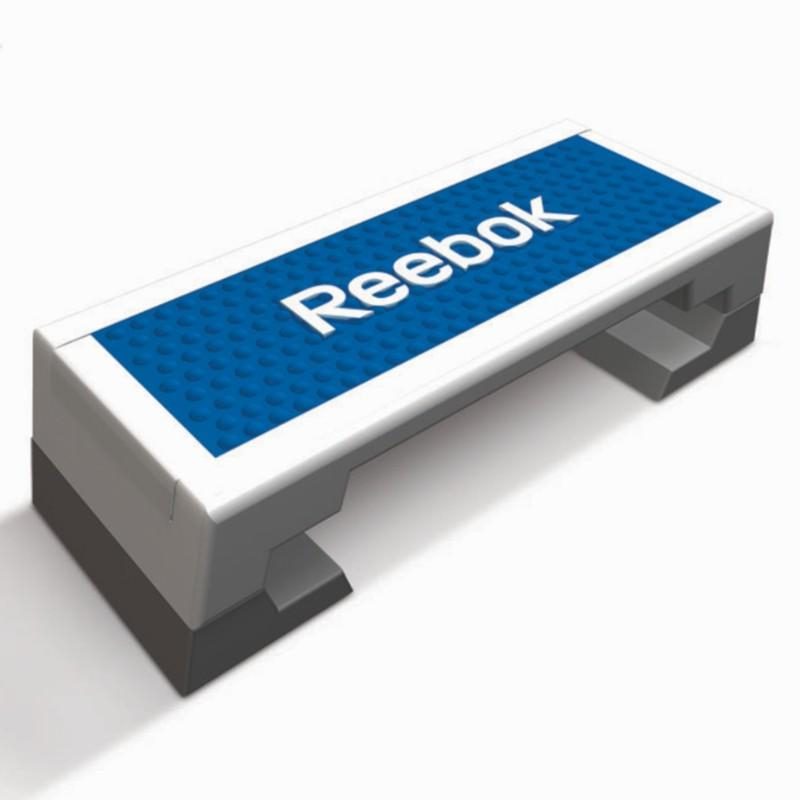 Reebok stepbank + work out dvd