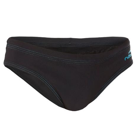 100 BOYS  SWIMMING BRIEFS - BASIC BLACK  37af23340