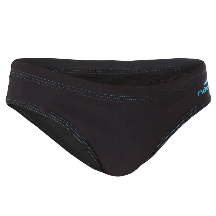 Zwemslip voor jongens 100 Basic zwart