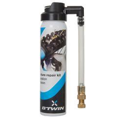 Pannen-Reparaturspray für Fahrradreifen mit Presta- oder Schrader-Ventil
