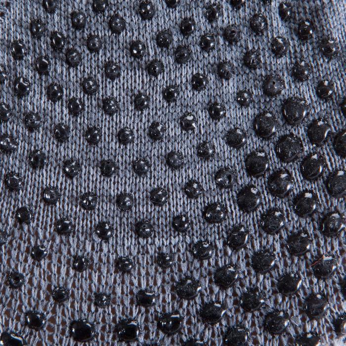 Antislip sokken voor pilates en lichte gym grijs