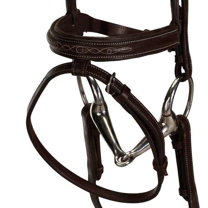 Filet + rênes équitation RECALL - poney et cheval - 848988
