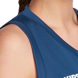 Basketbalshirt B500 mouwloos dames - 849063