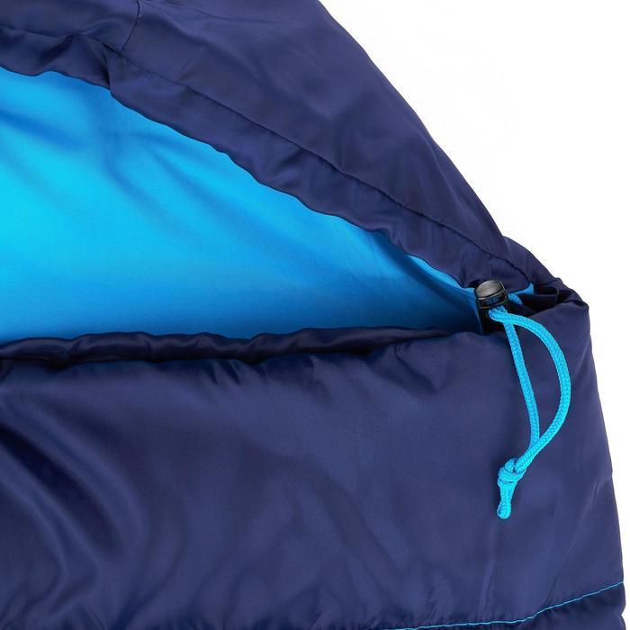 Sac de couchage de bivouac / randonnée / trek FORCLAZ 10° zip droit - 849296