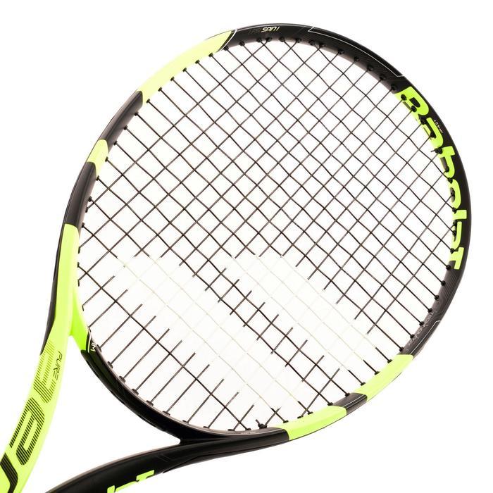 Tennisracket volwassenen Babolat Pure Aero geel zwart - 849367