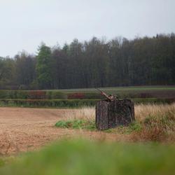 Ansitz-Zelt Jagd Tarnung Camouflage braun
