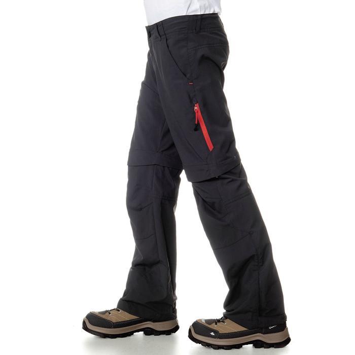 Pantalón de senderismo transformable júnior Hike 900 negro