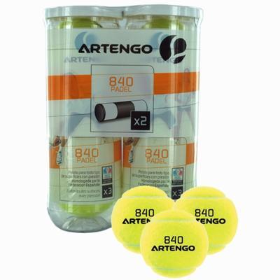 Balle de padel Artengo Bi pack 840 x 3