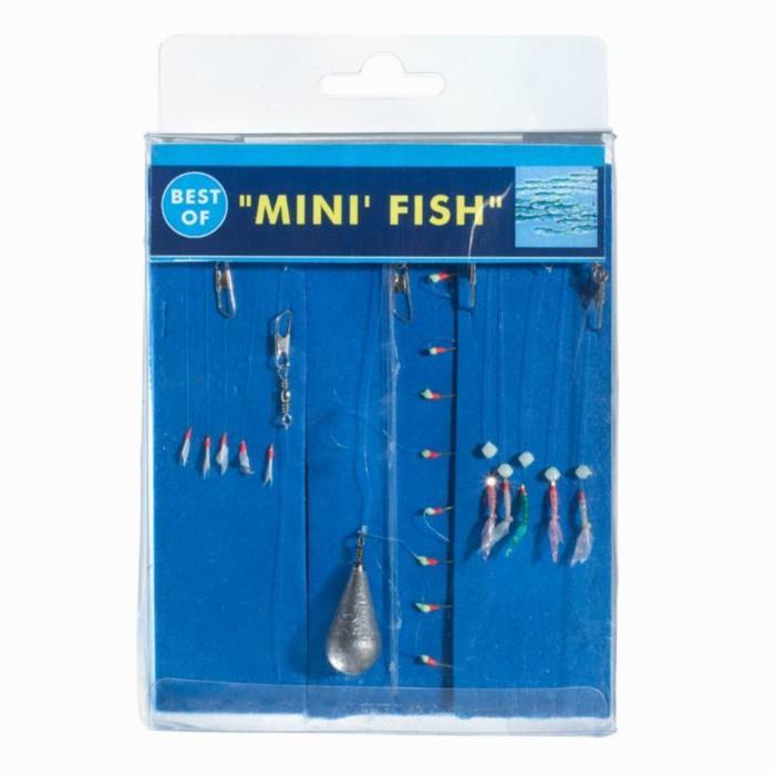 Bajo de línea BEST OF Mini fish x3 pesca en el mar