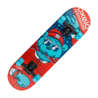 Play 3 Bear Kids' Skateboard - Blue