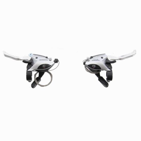 Set shifters + remgrepen 7S Shimano MTB en hybride - 850843