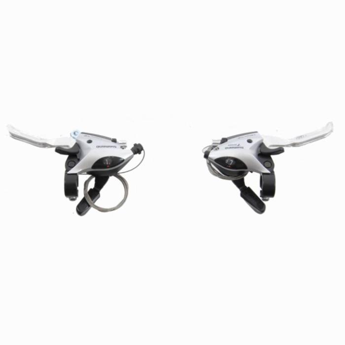 Set shifters + remgrepen Shimano 7S MTB en hybridefiets