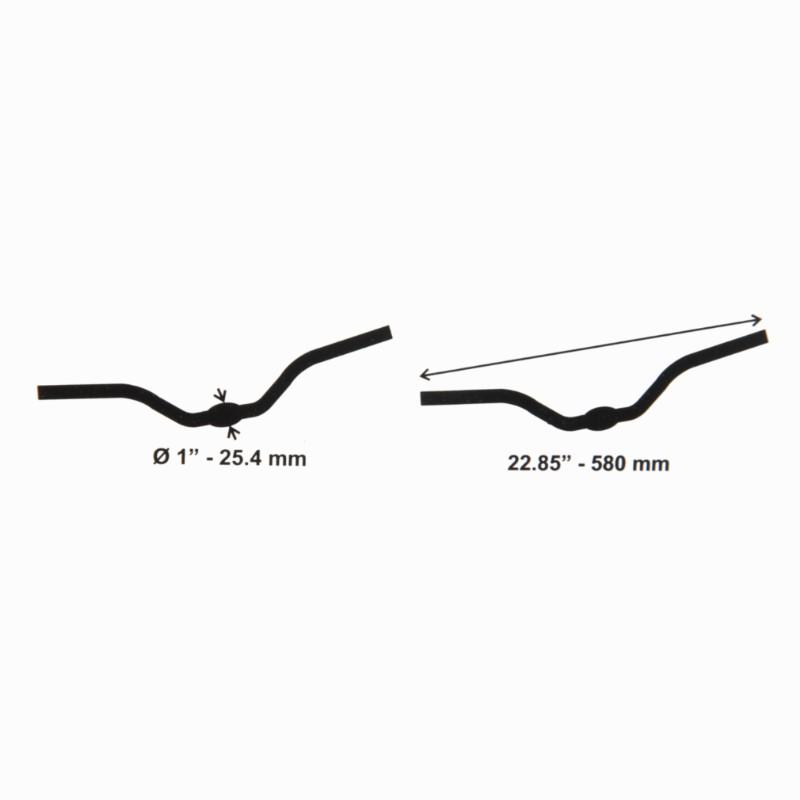 25.4mm Leisure Handlebars