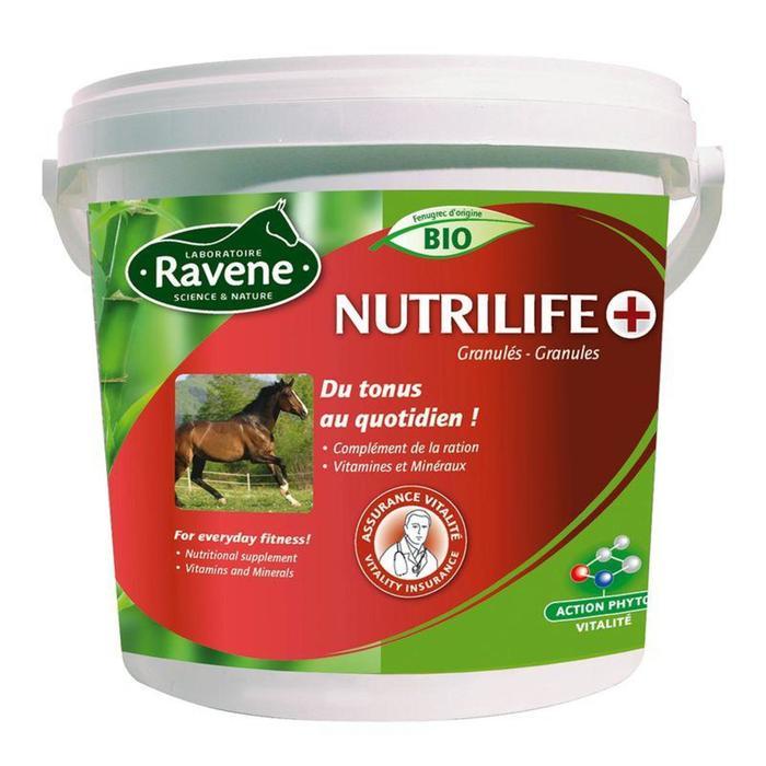 Complemento alimenticio equitación caballo y poni NUTRILIFE PLUS - 2,7 kg