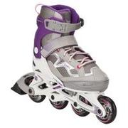 Patines fitness niños FIT 3 JUNIOR blanco violeta