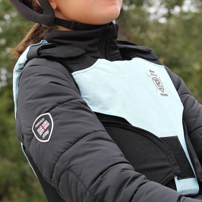 Veste équitation enfant SAFY noir - 853552