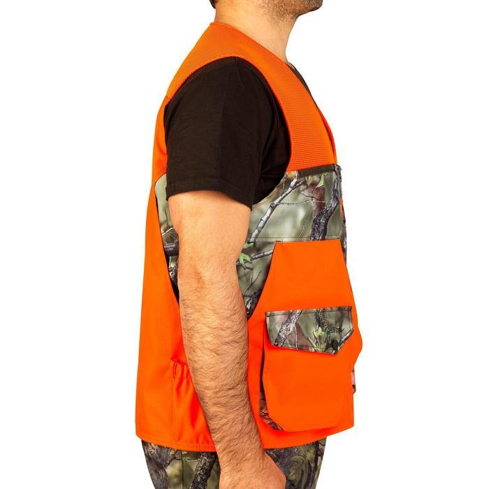 Vest Renfort 500 voor de jacht fluo camo - 853718