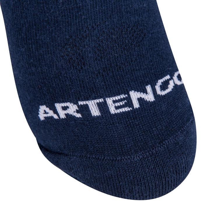 CHAUSSETTES DE SPORT MID ADULTE ARTENGO RS 160 NOIRES LOT DE 3 - 8539