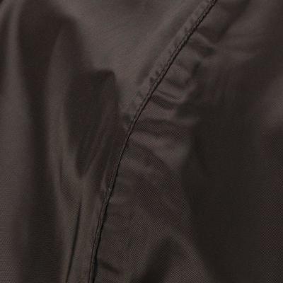 מעיל גשם עמיד במים לגברים - שחור