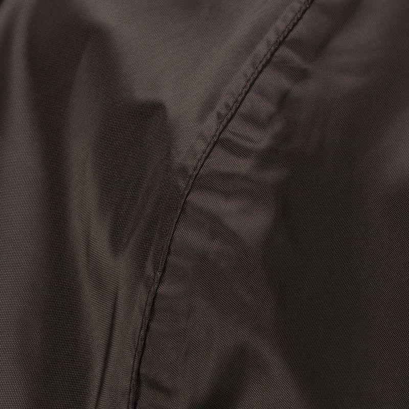 Áo khoác chống thấm leo núi dã ngoại Rain-Cut cho nam - Đen