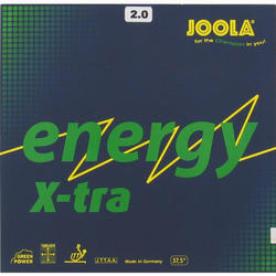 Tafeltennis rubbers Energy X-tra