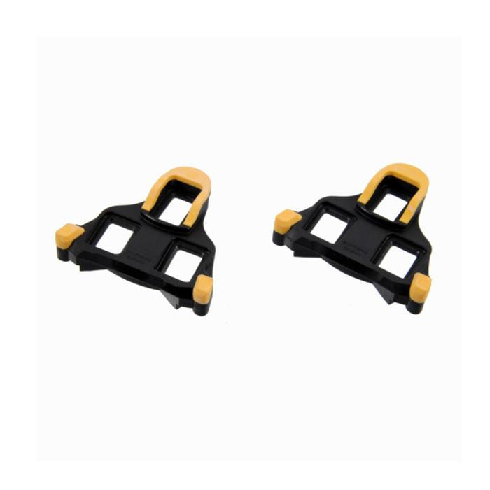 Schoenplaatjes Shimano SPD-SL cleats geel
