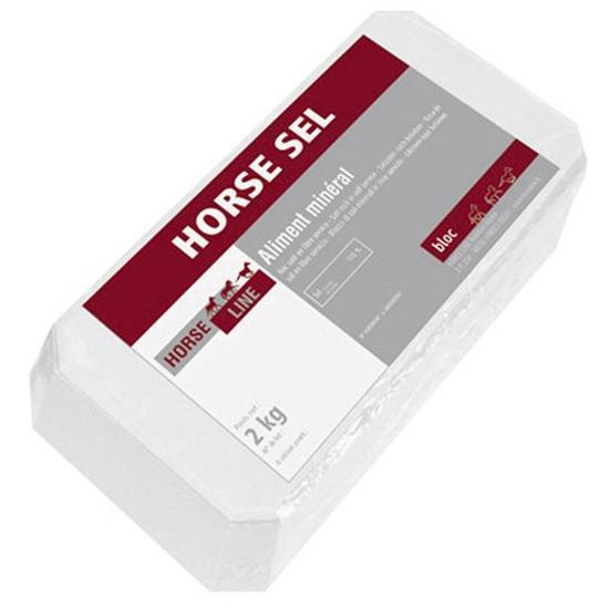 Zoutblok voor paarden Horse Roc zuiver zout 2 kg - 855092