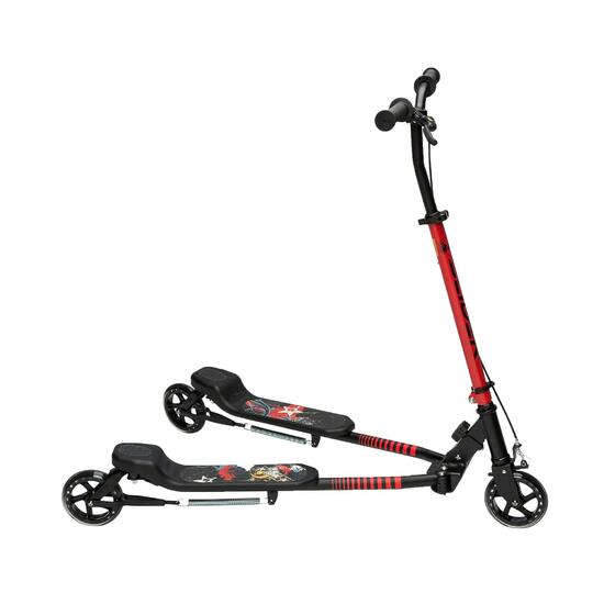 Step met 3 wielen Slider zwart/rood 2015 - 855097