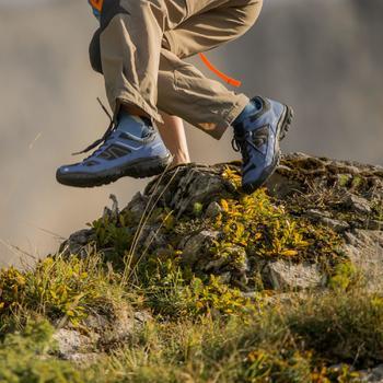Chaussures de randonnée enfant Arpenaz 50 lacet jaune