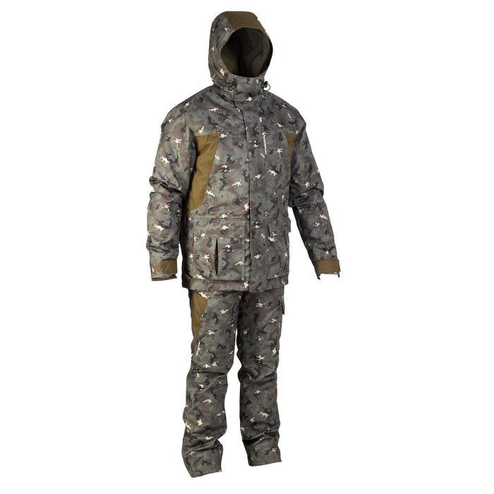 Pantalon chasse imperméable chaud 500 - 855426