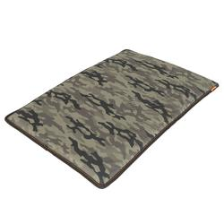Alfombrilla Perro Caza Solognac 100 Camuflaje Militar Verde 20 mm Espuma
