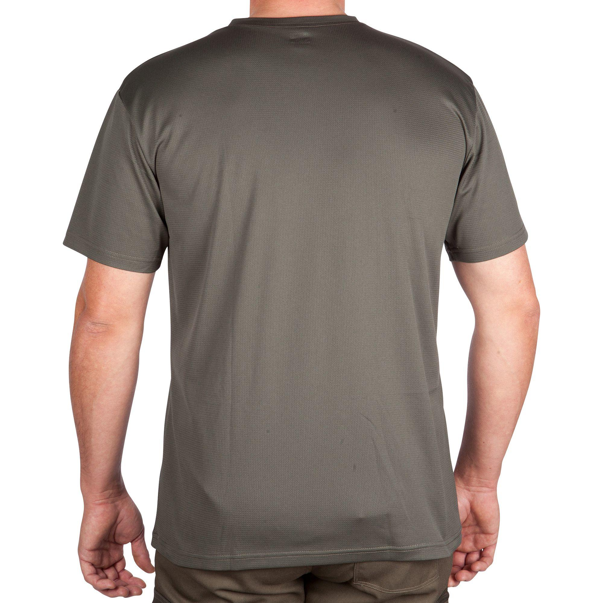 Men's Breathable T-Shirt 100 Green