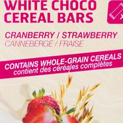 Barrita de cereales recubierta ECOSIZE Chocolate blanco Fresa Arándanos 10x 32 g
