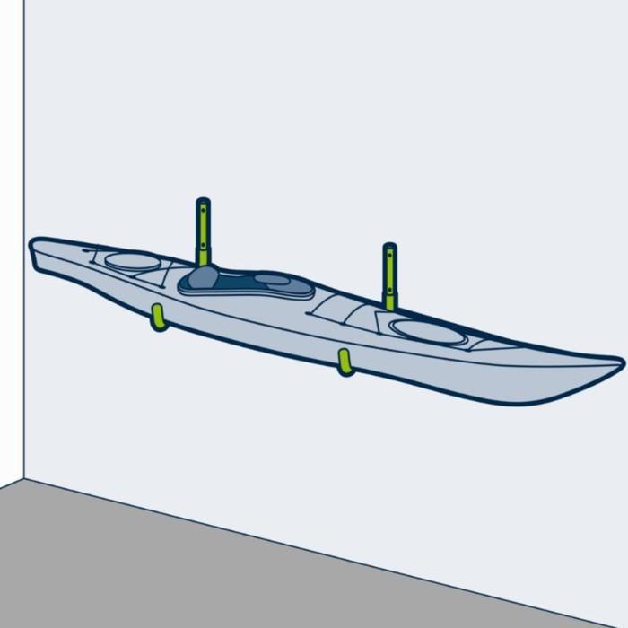 Ganchos de almacenaje para canoa kayak/stand up paddle