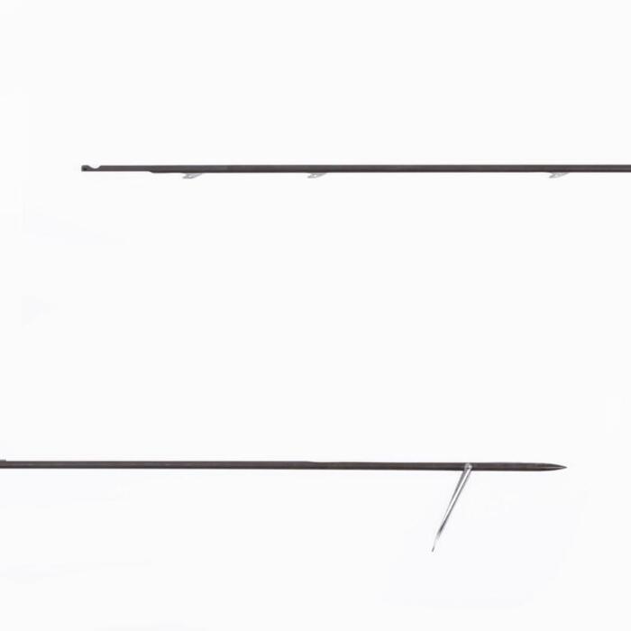 Flecha de fusil de gomas de pesca submarina con 3 espolones America 6,5 mm