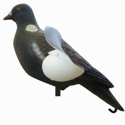 Lockvogel Taube bewegliche Flügel